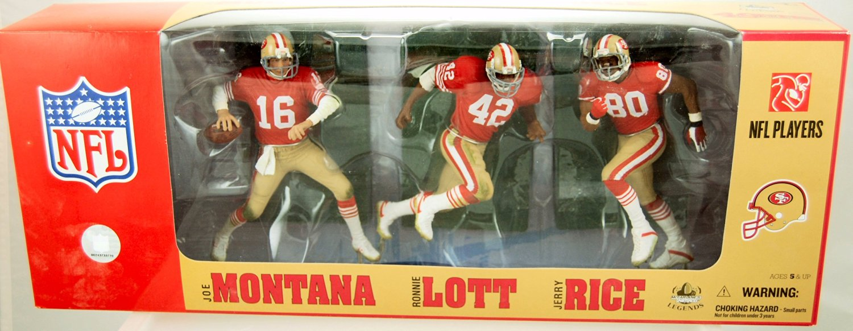 McFarlane San Francisco 49ers 3 pack of Figurines - San Francisco 49ers One Size