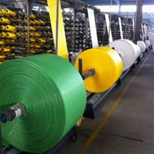 China tube woven pp bags pp woven fabric rolls pp woven sack roll polypropylene bag roll