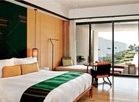 antique ranttan hotel bedroom furniture set