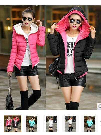 Onenweb Camperas Mujer Invierno Cotton-padded Long Slim Design Women Down Coats 2016 Winter Jacket