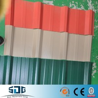Shandong SDG corrugated galvanized steel Sheet / galvalume sheet metal / color galvalume roofing sheet cheap price