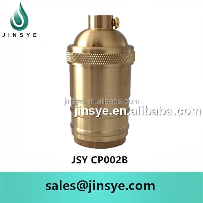 E26 E27 Pendant Lamp Holder Solid Brass Light Socket