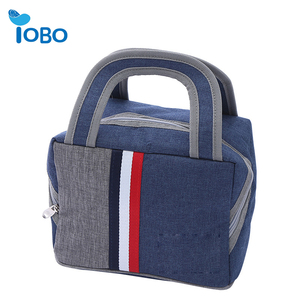 Portable Oxford Tote Bag Organizer Holder Insulated Lunch Cooler Bag for Women