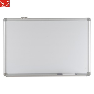 Wall Mounted Whiteboard magnetic black dry erase board for classroom