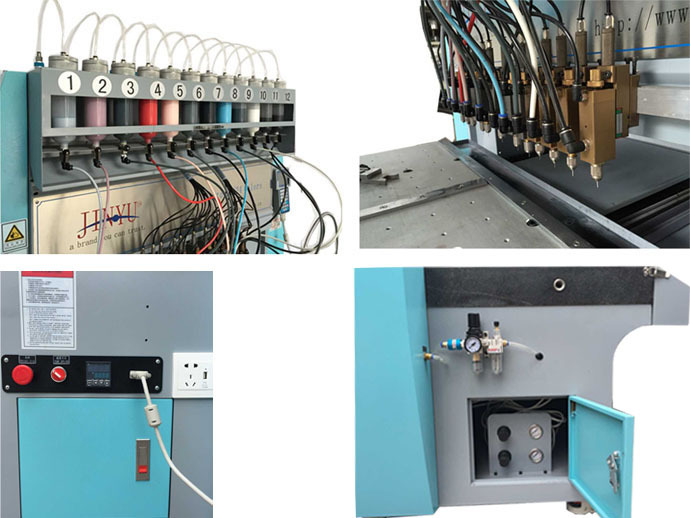 12color dispensing machine