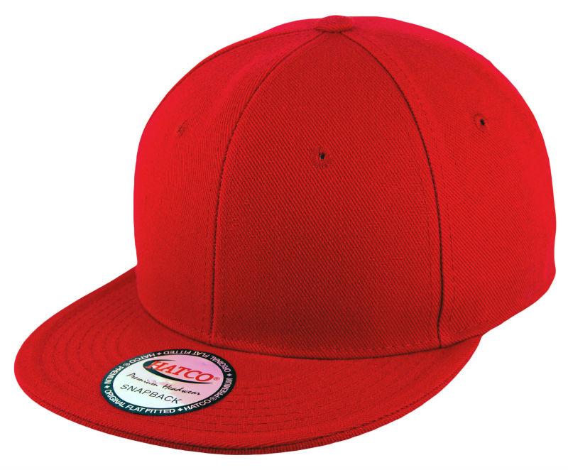 Plain Snapback Cap - Red 4583a22c9230