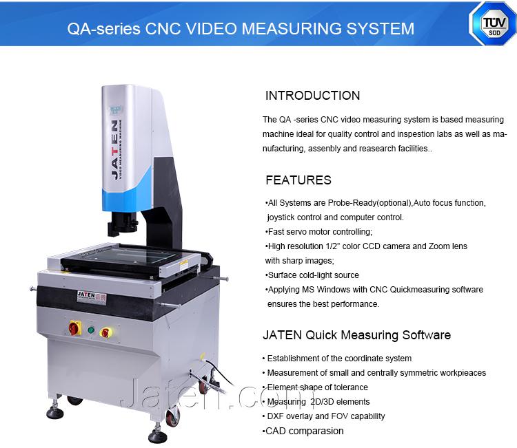 2D CAD Comparison Optical Image Frame Measuring Machine