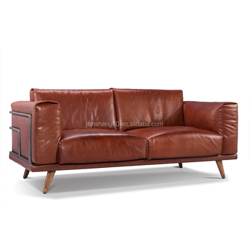 Top Leather Sofa Set Genuine Leather Sofa In Furniture Factory Foshan