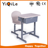 Double school desks and chair for middle school