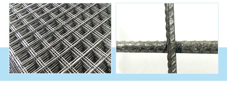 Steel Concrete Reinforcement panel brc reinforcement mesh a393