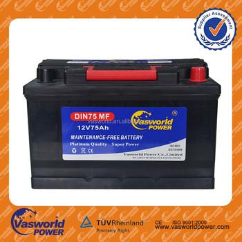 12 Volt Car Battery Amps 12v 75ah Price