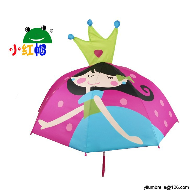 190t pongee umbrella fabric 100% polyester personalized kids umbrella cheap