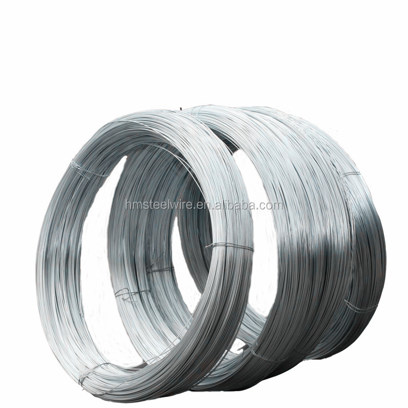 Galvanized staple wire/galvanized steel wire for armouring cable/4mm galvanized wire coil