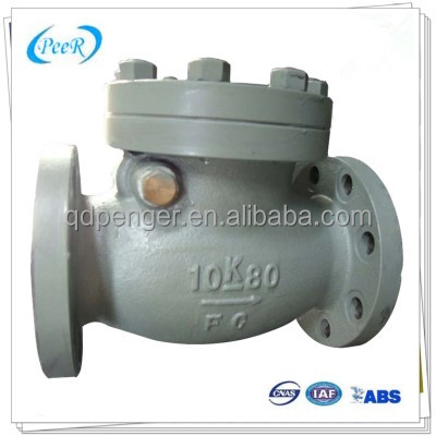 JIS 10k dn80 high pressure seal bonnet swing check valve