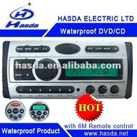 motocycle sound DVD player with TFT screen.radio ,USB ,Marine dvd ,Using in the sauna room , Marine boat ,Outdoor , H-3008