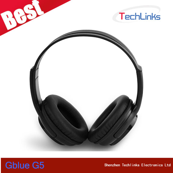 Original Gblue G5 Wireless Headphone Music Stereo With Mic Bluetooth 3.0 Headset