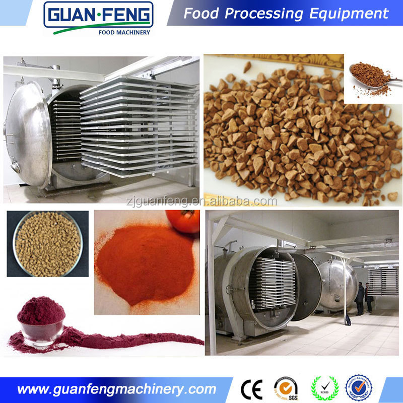 Quality Guaranteed Food Lyophilizer Cocoa Processing Machine