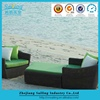 Aluminium Outdoor Furniture Wicker Couch And Outdoor Benches
