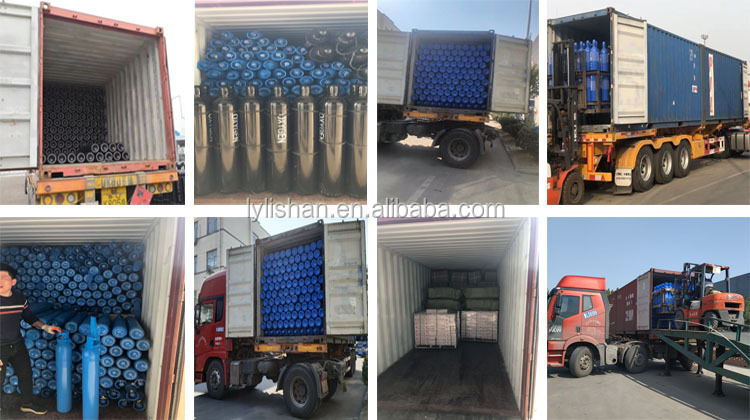 Draagbare medische rvs gas cilinder
