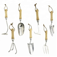 Garden Hand Tools with Stainless Steel Head