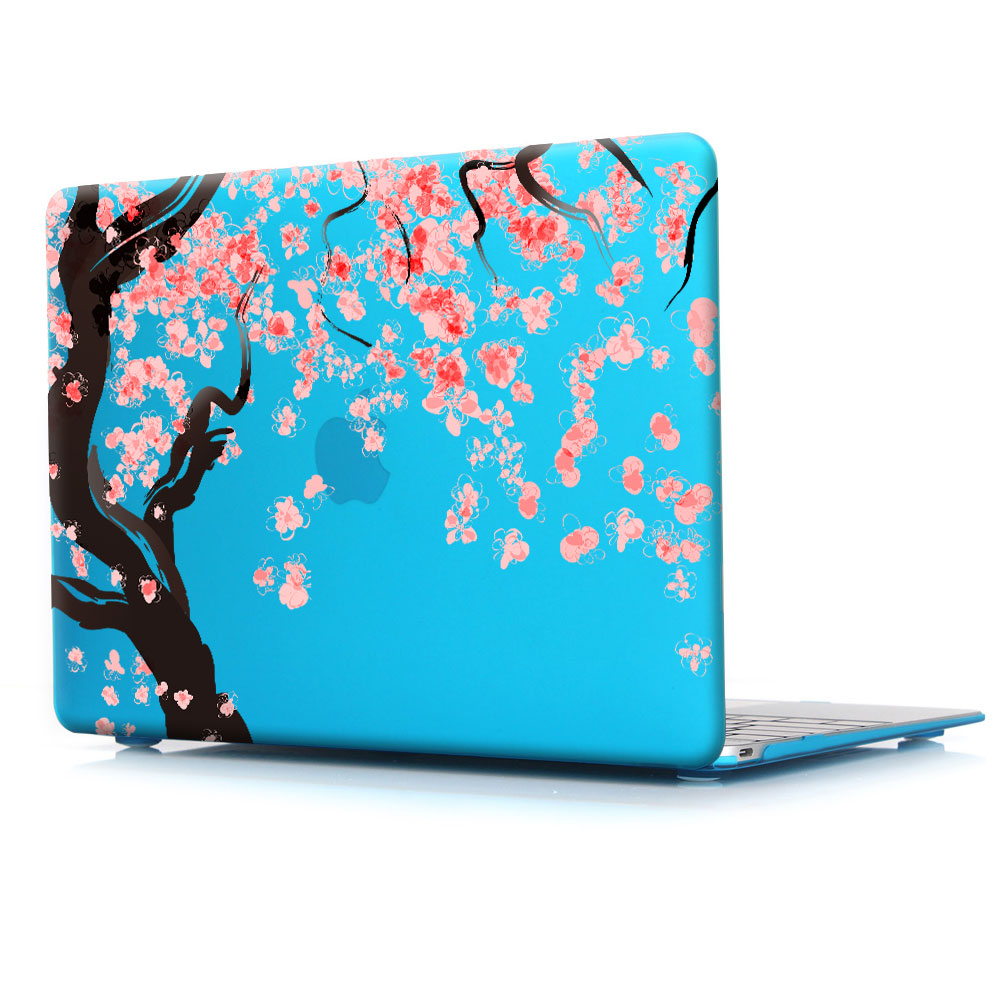 Japan Cherry blossoms pink beautiful printed Case For New Apple MacBook Pro  13 15 with Retina Mac Air 11 6 12 13 3 inch cover