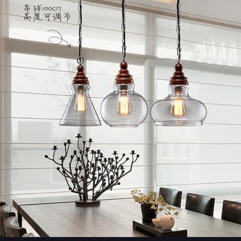 320- 4 Vintage Rustic Kitchen Island Hand Blown Glass Pendant Lights Lamp -  Buy Vintage Rustic Lamp,Kitchen Island Lamp,Hand Blown Glass Pendant ...