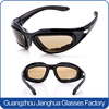 Top sale good price UV-protection changeable lens coolest mens motorcycle sunglasses