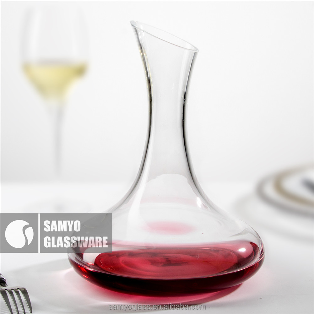Samyo Glassware Manufacturers Handmade Glass cheap glass wine decanter