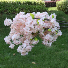WF403C Hot Sale Artificial Cherry Blossom Branch