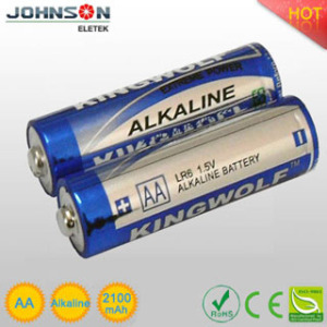 china wholesales the lr6 alkaline dry battery aa 1.5v