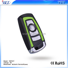 YET017 Green and orange color car alarms remote control New product in China