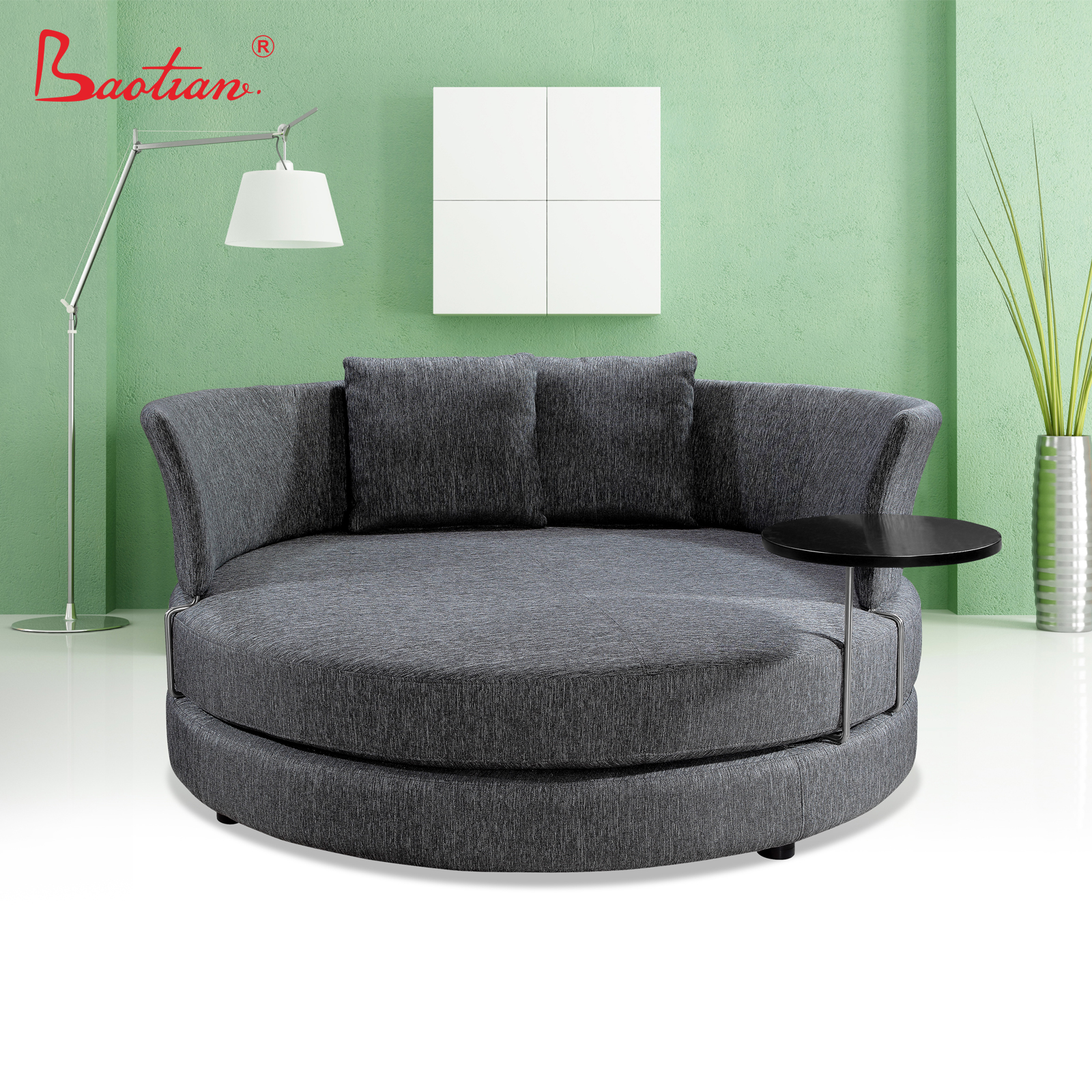 - Red Chaise Lounge Sofa,Round Sofa With Coffee Table - Buy Tv