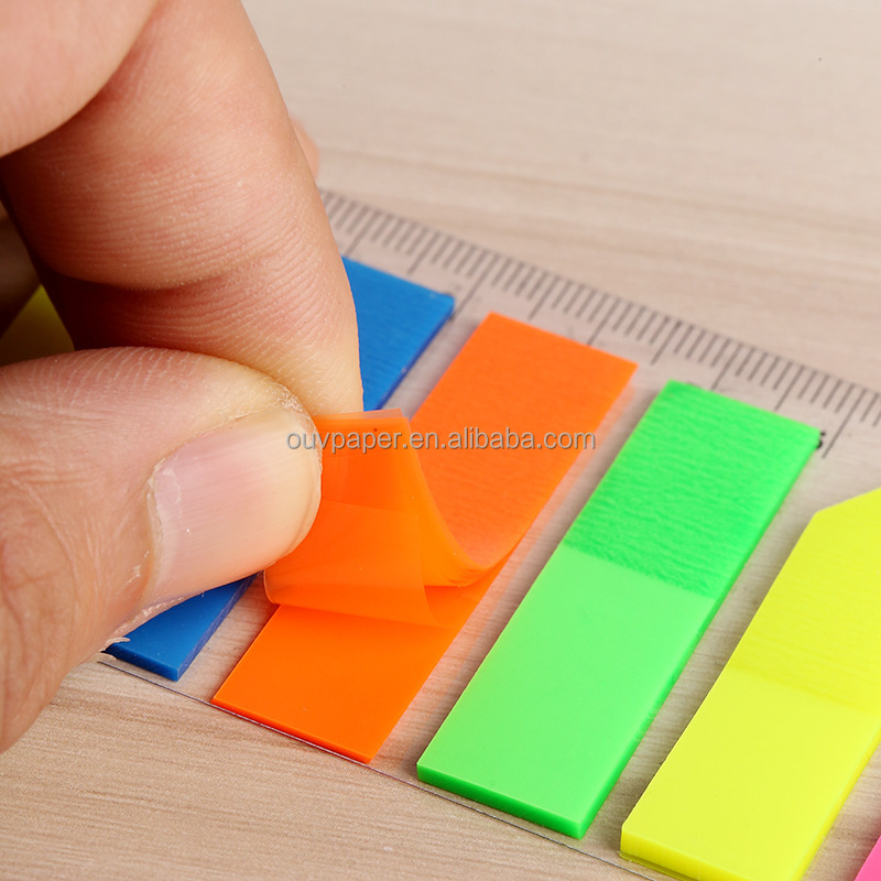 5 kleur PET film index sticky note