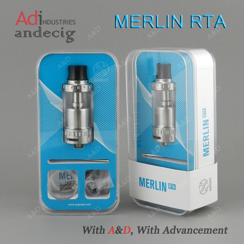 Augvape Merlin Rta 4ml Top Filling Tank From A&d