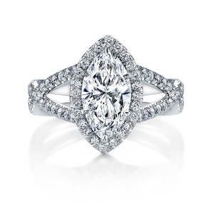 white gold discount platinum moissanite wedding engagement rings