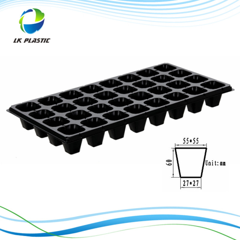 Wholesale biodegradable nursery seed tray LKS21