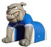 Advertising inflatable mascot helmet entrance sport tunnel