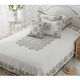 Newest high quality bedding sets 100% linen new style printed home linen bed sheets