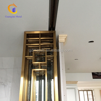 Family decoration Metal price of stainless steel door frame