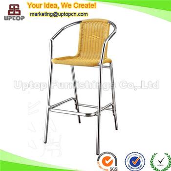 Sp Oc766 Aluminum Furniture Outdoor Bar Stools For