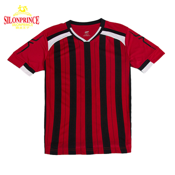 Silonprince 100% Polyester Custom Sublimation Printing logo cheap thai quality 2017-2018 red football shirt