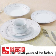 Chinese Factory Supply Grade Luxury Porcelain Dinner Set