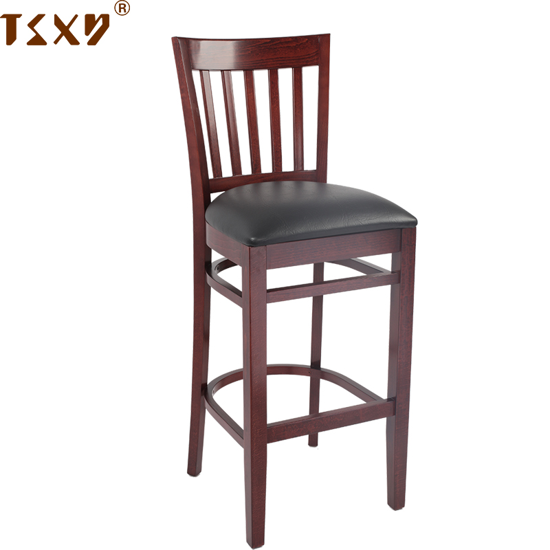 Widely Used Wholesale Cheap Wood Square Barstool