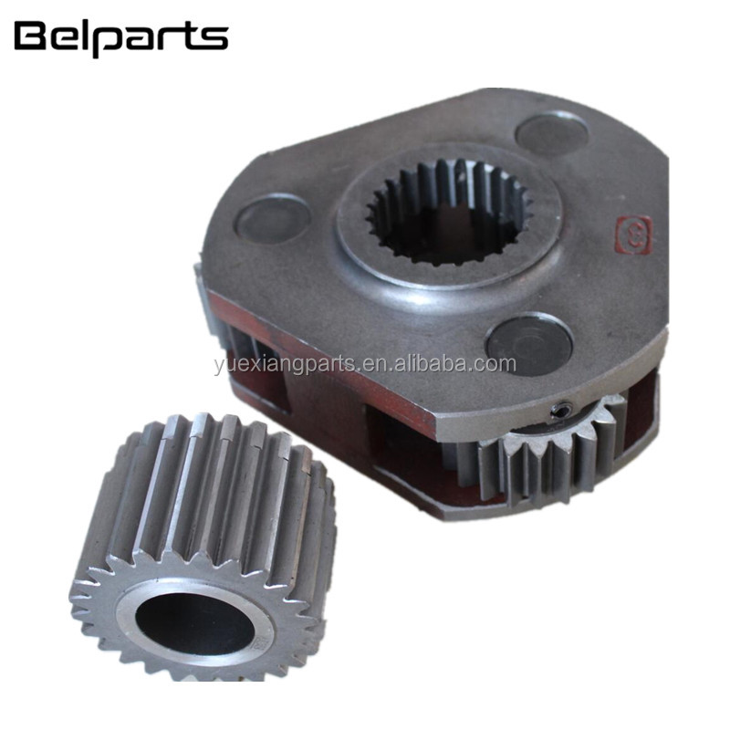 SH120 SH120-1 Excavator spare parts swing reduction gear 1st swing carrier assy with 25T sun gear