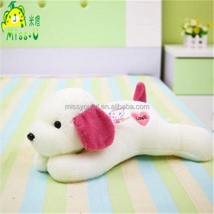 Lovely Valentine's Day Animal Plush Love Dog Toys Wholesale
