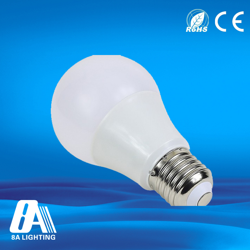 Energy saving e27 7watt rechargeable led bulbs with remote contral