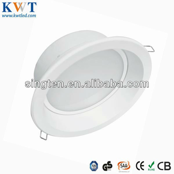 Samsung SMD Dimmable LED Recessed Down lights white trim 18W