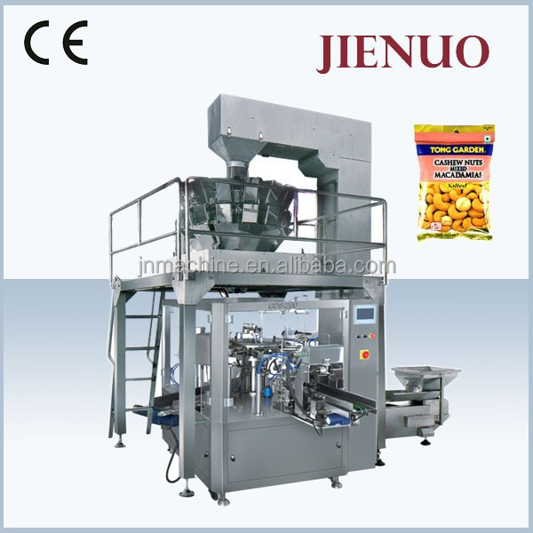 Low Cost Food Filling Rotary Cashew Nut Packing Machine