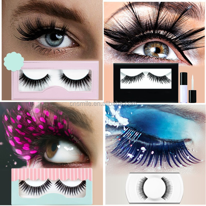Wholesale high quality 3d mink eyelashes packaging private label