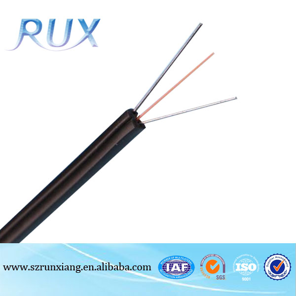 Good quality G657A 1/2 /4 core indoor ftth fiber optical cable